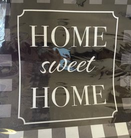 Briarwood Lane 12 x 18 Garden Flag: Buffalo Check Home Sweet Home