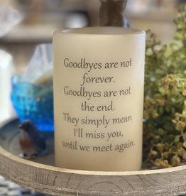 """Lasting Lite Lasting Lite 6""""  Goodbyes Are Not Forever"""