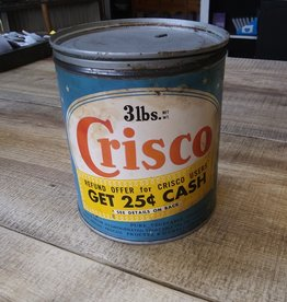 Crisco Crisco 3 lb Tin (empty) 1950's