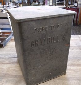 Vintage Graybill's Dairy Porch Box