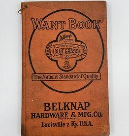 Want book Belknap Hardware & Mfg. Co.