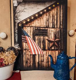 Americana Lit Canvas