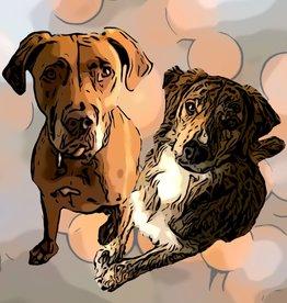 Mama Media Magic Designs ONE Pet Mama Media Magic  Cartoon