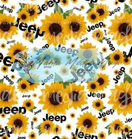 Mama Media Magic Designs Sunflowers Off-Roading  Mama Media Magic Seamless Design