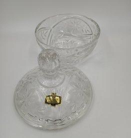 Kristal Zajecar 24% Lead Glass Candy Dish