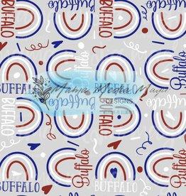 Mama Media Magic Designs Buffalo Rainbows Mama Media Magic Seamless Design