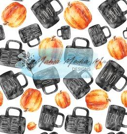 Mama Media Magic Designs Watercolor Fall Coffee Mugs Mama Media Magic Seamless Design