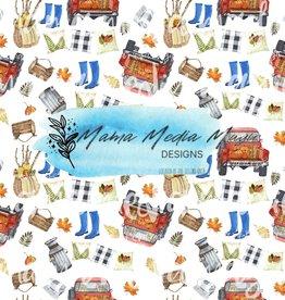 Mama Media Magic Designs Farmhouse Fall Mama Media Magic Seamless Design