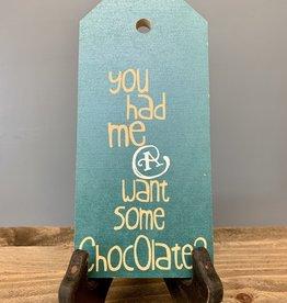 Chocolate Mini Tag
