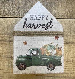Happy Harvest Chunky House Sitter w/Pumpkin Truck