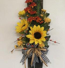 Sunflower Fall Wall Decor