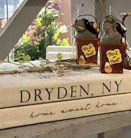 Dryden, NY Decorative Book Stack