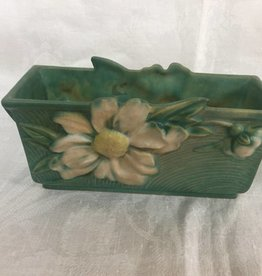 "Peony Roseville Planter, 8"", 1950"