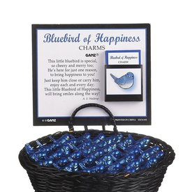Ganz Bluebird of Happiness Pocket Charm