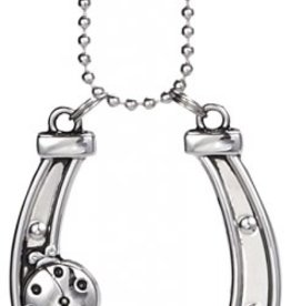 Ganz Lucky Horseshoe Car Charm