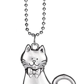 Ganz Silver Cat Car Charm