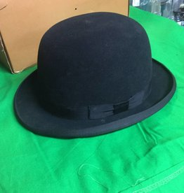 Vintage Bowler Derby Hat. E.1900's