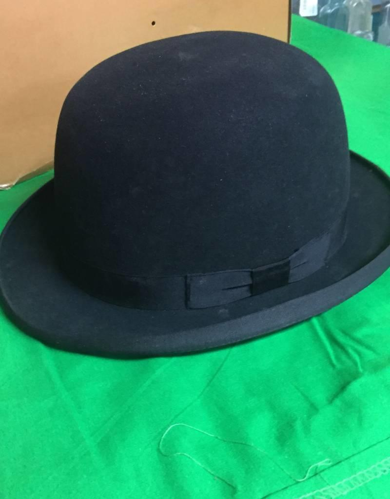 Vintage Bowler Derby Hat E 1900 S The Second Knob Gifts