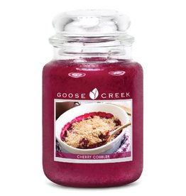 Goose Creek Goose Creek Cherry Cobbler (Large) Jar Candle