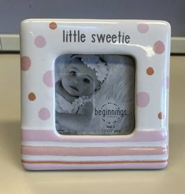 Enesco Little Sweetie Pink Photo Frame