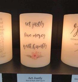 Act Justly-Vanilla Lasting Lite Sleeve