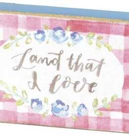 Land That I Love Magnet, 3.25x1.25""