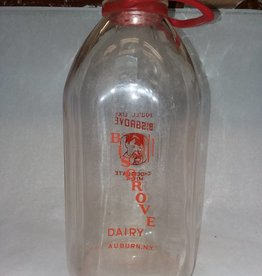 Bisgrove Dairy Milk Bottle, 1/2 Gallon, 1960's