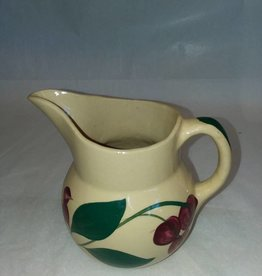 "Watt Cherry Pitcher #15, 5.5"", c.1950"