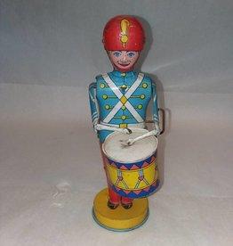 """J. Chein Tin Drummer, 8.5"""", 1930's"""