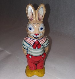 "Chein Wind-Up Tin Rabbit Toy, 5.25"", 1940's-50's"