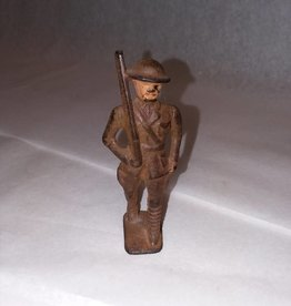"Cast Iron WWI Toy Soldier, M.1930's, 3.25"" Tall"