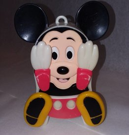 "Mickey Mouse Wind-up Toy, Works, 6"", 1950's"