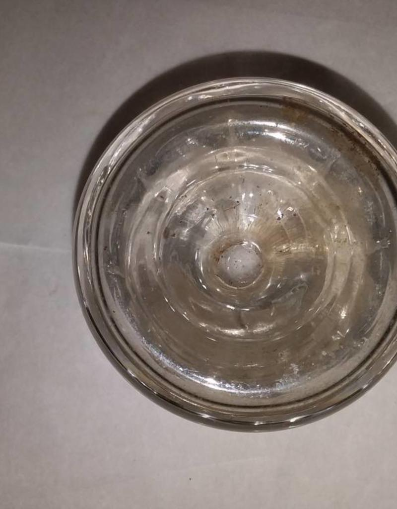 clear round inkwell for quill pens m 1800 s 2x2 5 the second