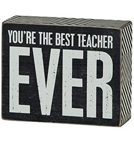 You're The Best Teacher Ever