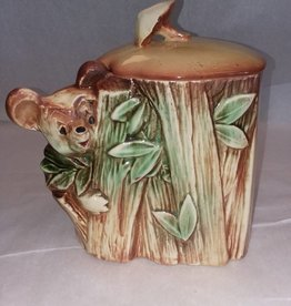 "Koala Bear Cookie Jar, McCoy Pottery, 1953, 9"" Tall,"