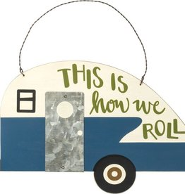 This Is How We Roll Hang Tag, 12x7""