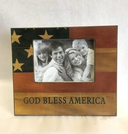 God Bless America Frame