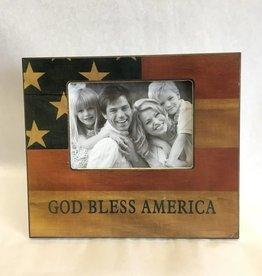 God Bless America Frame