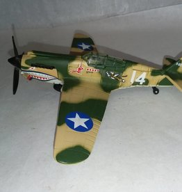 P-40B Tiger Shark Model, 1:72 Scale, L.1990's