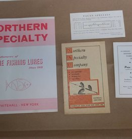 Paper Lot N.S. Co. Adv., 4 Items