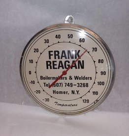 "Frank Reagan Thermometer, 6"" Diameter, c.1960"