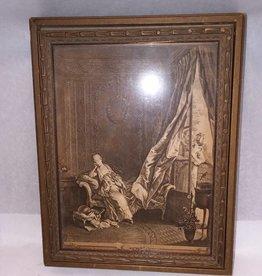 """Victorian Jewelry Box, 10x8x2"""", L.1800's"""
