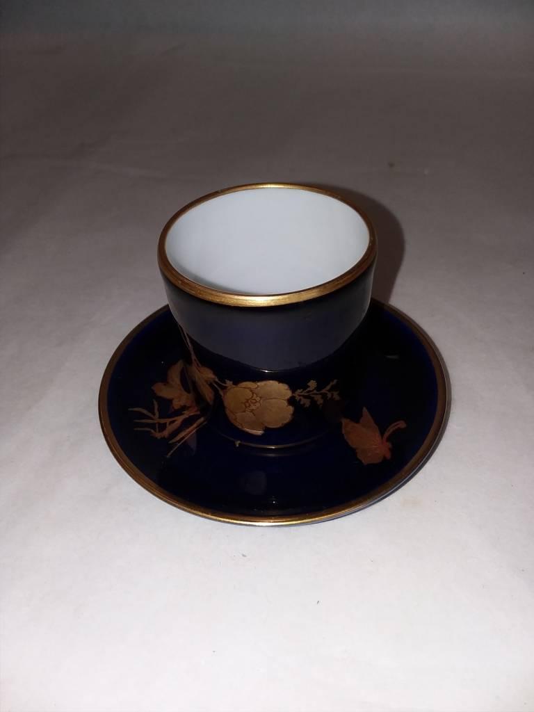 Limoge France Porcelain Artistique Saki Cup Amp Saucer C