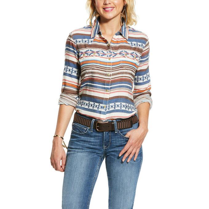 Ariat 10030662 Ladies Ariat Tribal Long Sleeve Shirt
