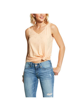 Ariat 10030899 Ladies Ariat Steer Tribe Sleeveless Shirt