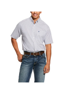 Ariat 10030583 Ariat Mens Gibsonton Short Sleeve Shirt