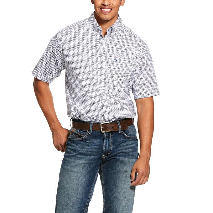 Ariat 10030583 Ariat Mens Gibsonton Short Sleeve Shirt