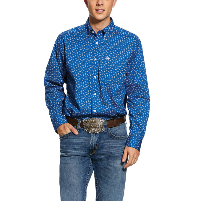 Ariat 10030582 Ariat Mens Gates Long Sleeve Shirt