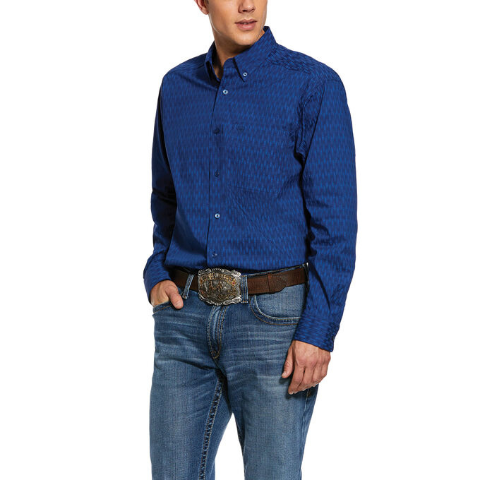 Ariat 10030591 Ariat Mens Groton Long Sleeve Shirt