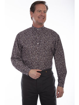 Scully RW325 Mens Scully L/S Paisley Shirt